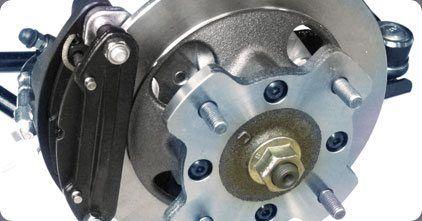 Frenos de disco cuatro ruedas
