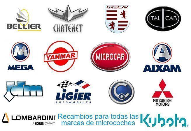Recambios para todas marcas coches sin carnet