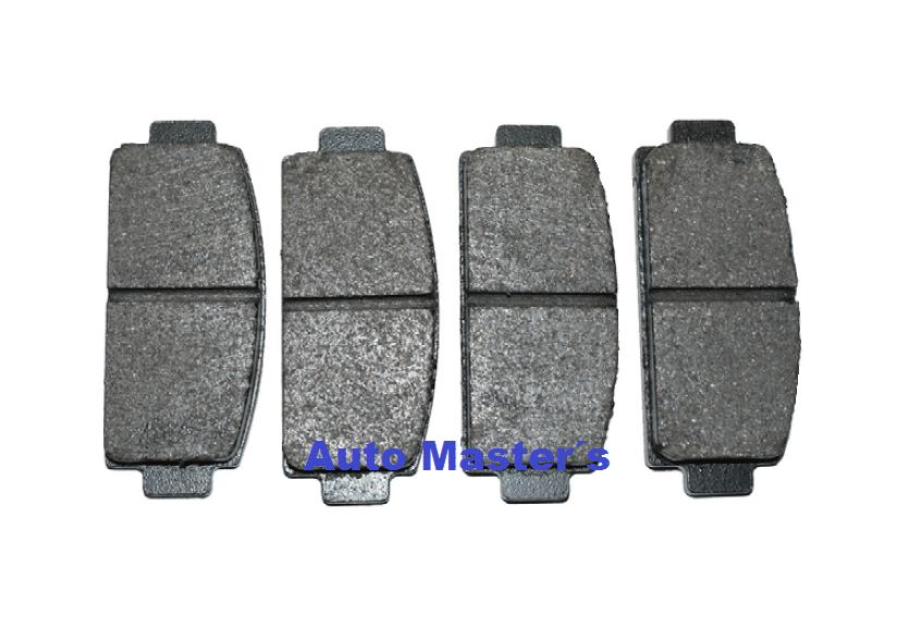 Se adapta a MICROCAR VIRGO 0.5 Genuino OE Calidad APEC Trasero Conjunto de Pastillas de freno