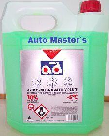 Anticongelante 5L. 10% Verde
