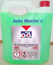 Anticongelante 5L. 30% Verde