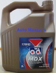 Aceite motor MDX 5L 10W40