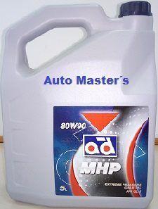 Aceite caja cambios 5L. 80W90
