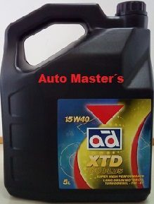 Aceite motor XTD 5L 15W40