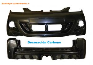 Kit paragolpes carbono Aixam 2010