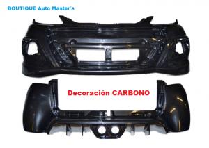 Kit paragolpes carbono Aixam GTO 2010