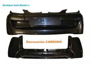 Kit paragolpes carbono Aixam Minauto 2010