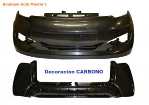 Kit paragolpes carbono Aixam Vision 2013