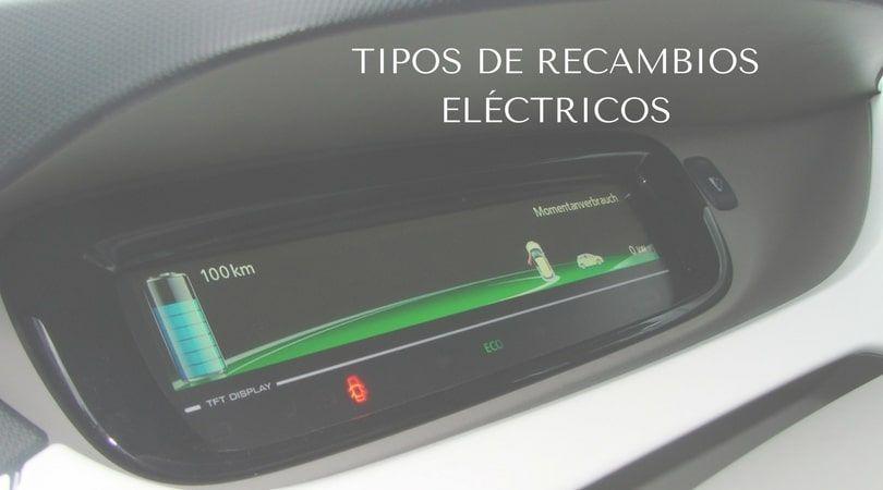 Tipos de recambios eléctricos