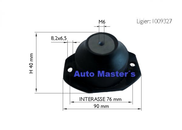 Silentblock motor