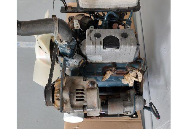 Motor Kubota usado ocasion