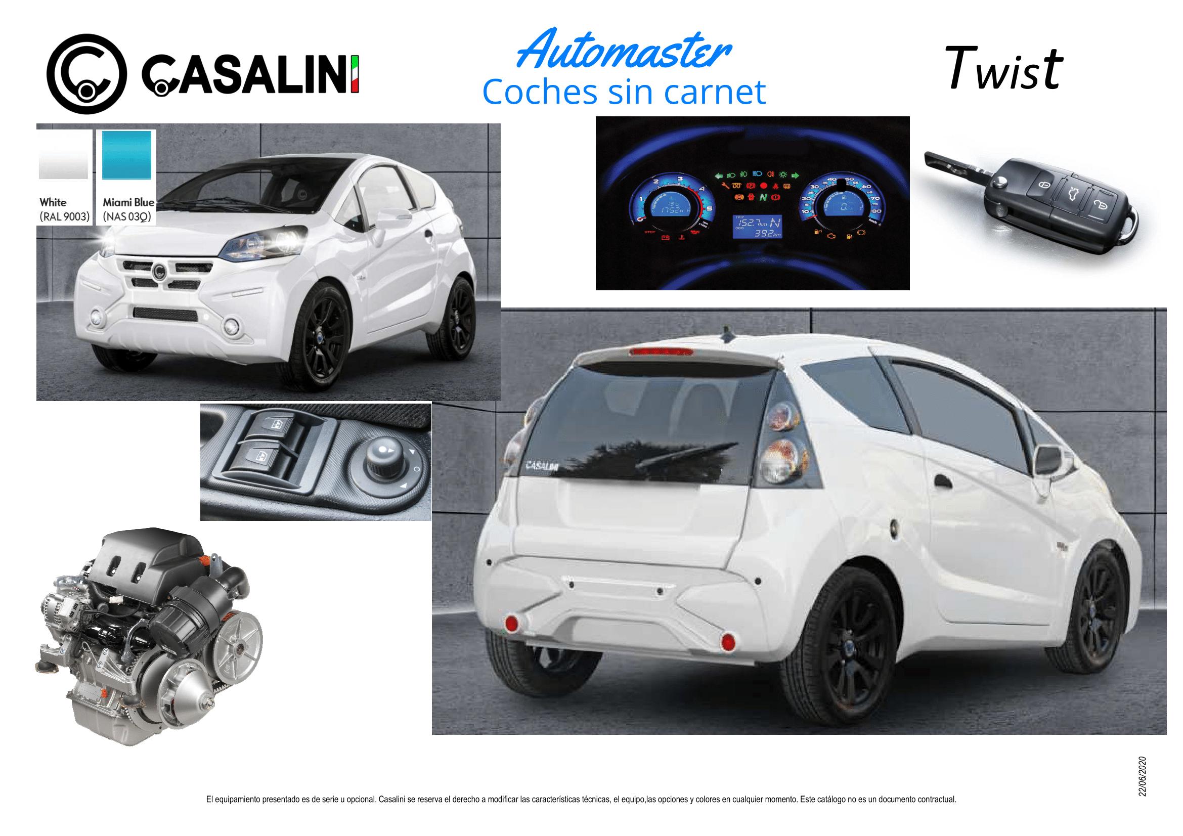 Equipamiento 2 Casalini Twist basic